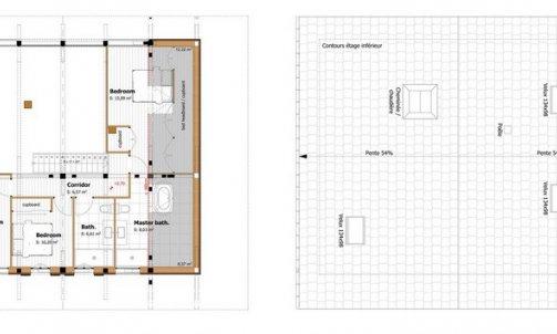 Aménagement d'un appartement dans une grange Seytroux